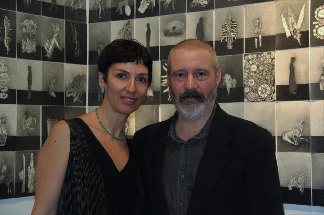 Ася Додина и Слава Полищук